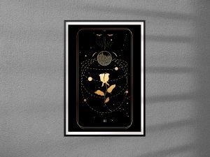 Karta Tarota 03 -  The Empress - Cesarzowa - plakat pojedynczy