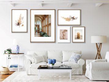 Dekoracje do domu według pomieszczeń